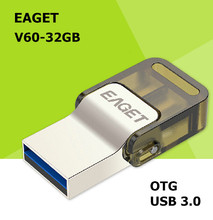 EAGET V60 USB 3 0 100 32GB Smart Phone Tablet PC USB Flash Drives OTG external