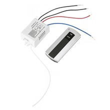 цена на Channel with Digital Transmitter 220V ON/OFF 1 Switch Wireless Relay Receiver Remote Control Light Lamp