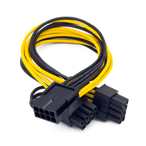 Image 3 - EPS CPU 12V 8 Pin to Dual 8 (6+2) Pin PCIE Adapter Power Supply Cable 20cm