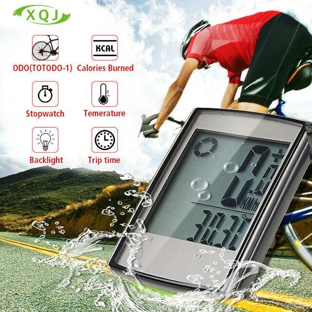 Bike Bicycle Computer Wireless Bicycle Speedometer  Waterproof  Stopwatch Backlight odometer Temperature Accessories battery