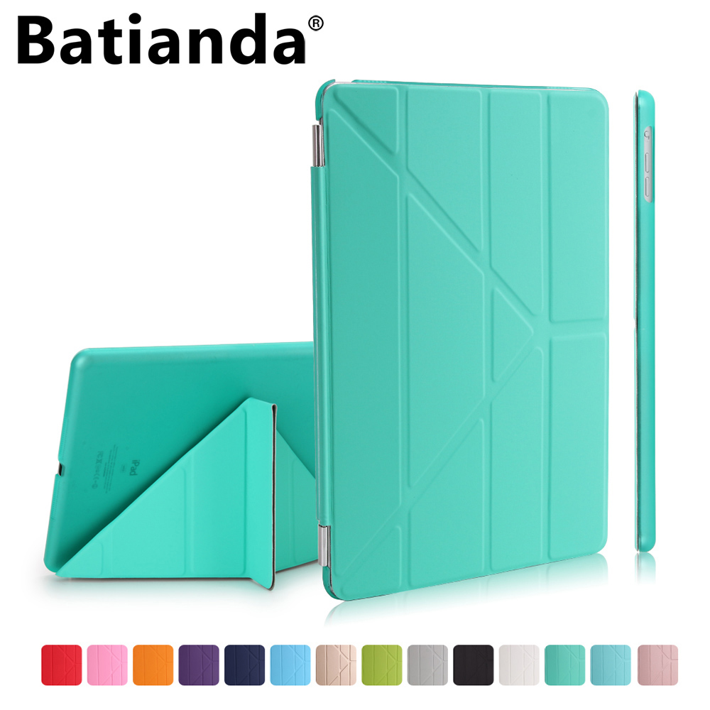 Batianda Case for iPad Mini 4 Ultra Slim Lightweight Smart-shell Stand Cover with Frosted Back Protector for Apple iPad Mini 4