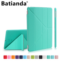 Batianda Case For IPad Mini 4 Ultra Slim Lightweight Smart Shell Stand Cover With Frosted Back