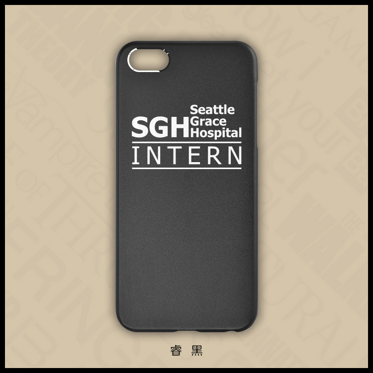Free shipping protect case for iPhone 5s/5 TV series theme Grey\'s ...