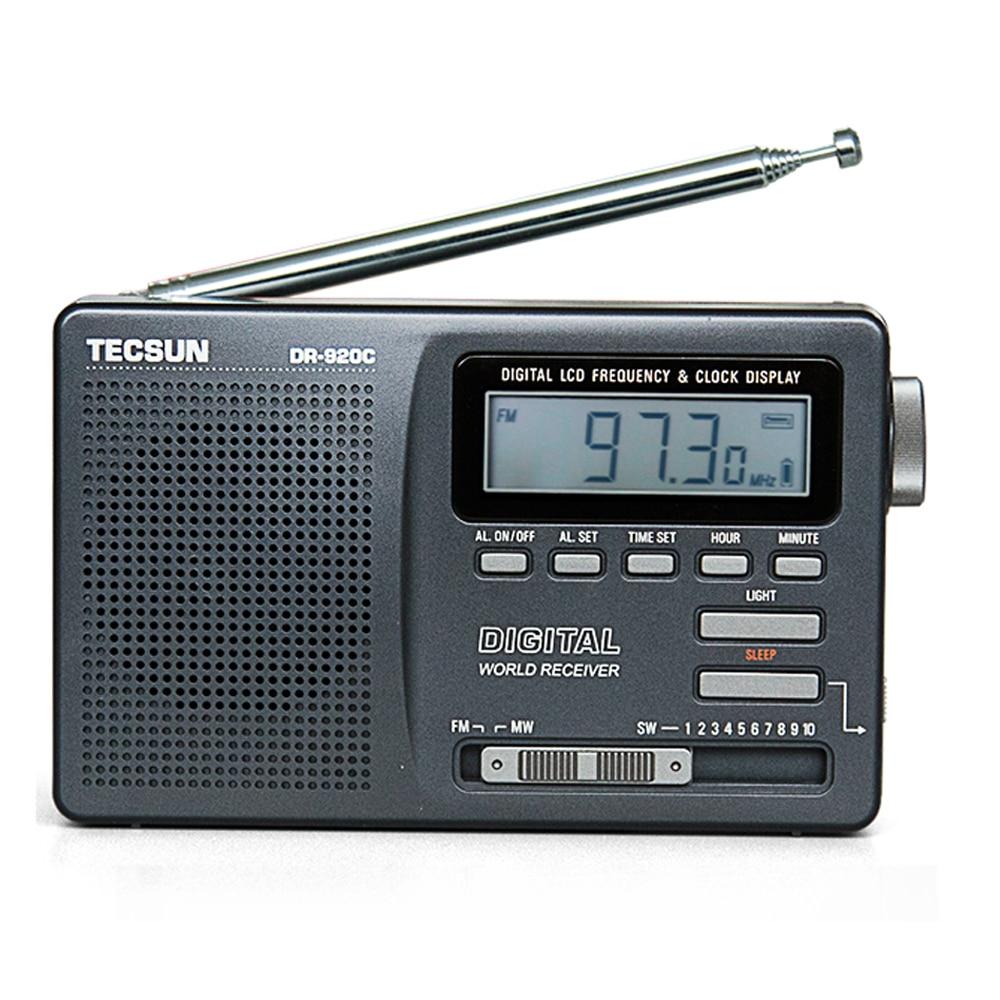 Gewissenhaft Tecsun Dr-920c Digtal Display Fm/mw/sw Multi Band Radio Dr920 Unterhaltungselektronik