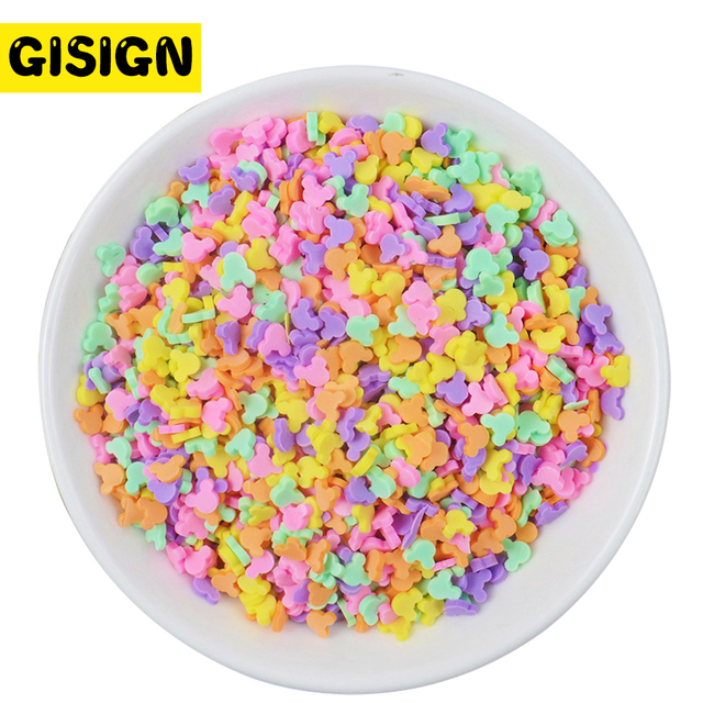 DIY Slime Beads Sprinkles Addition for Slime Charms Filler Fluffy Mud Slime Toys Supplies Accessories Clay Kit 20g