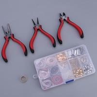 DIY Jewelry Pliers Tools & Equipment Kit Findings Earrings Earwire Hooks Handmade Components 03 Jewelry Making Accessories