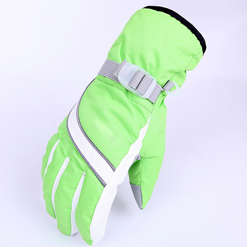 Guantes de Esquí de Deportes de invierno de Snowboard de Esquí Guantes Paseo de Invierno Gruesas botas de Moto Ciclismo Anti-30 Grados Cálidos guantes de Deporte Guantes de Adultos