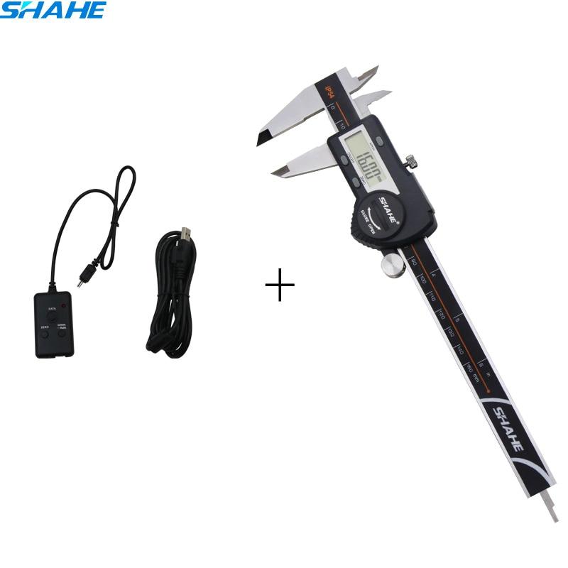 SHAHE high quality  digital caliper 150 mm with USB type date cable lineSHAHE high quality  digital caliper 150 mm with USB type date cable line
