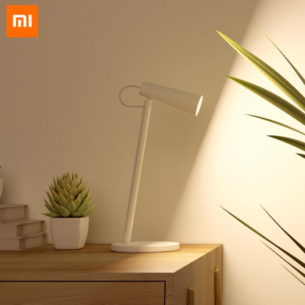 Original Xiaomi USB Rechargeable LED Desk Lamp 3 Light Temperture Eyes Care Reading Light Wireless USB Rechargeable Table Lamp