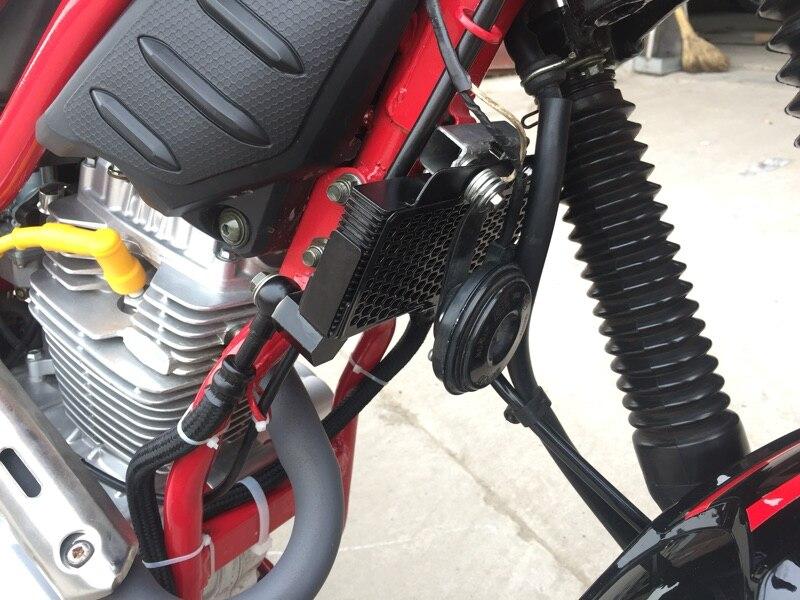 CG CB moteur kits de conversion modifed refroidisseur d'huile radiateur avec tuyaux moto R5 R9 125cc 150cc scooter livraison gratuite