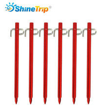 Tent Nail (4 pcs) 20/30cm High-strength Lengthened Beach Aluminium Alloy Camping Outdoor Peg Accessories