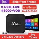 X96 MINI IPTV France Subscription Code SUBTV Android 7.1 S905W 4k Full HD Live IPTV Turkish Portugal IPTV Receiver Box IP TV