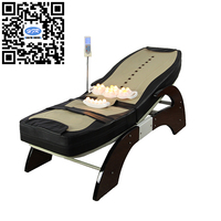 HFR 168 1F 1 Migun Hot Heated Portable Korea Cheap Nuga Best Warm LCD Automatic Electric Rolling Thermal Jade Stone Massage Bed