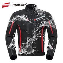 HEROBIKER Motorcycle Jacket Men Waterproof Moto Jacket Motor