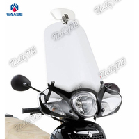 Motorcycle Universal Windshield Windscreen Transparent Spoiler Shield Fit For Honda Yamaha Kawasaki Suzuki KTM BMW Ducati