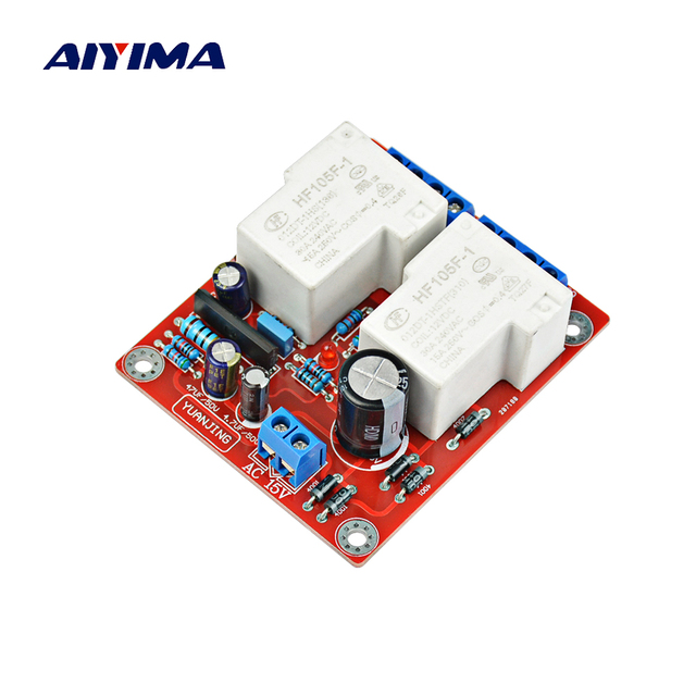 Aiyima Mini Audio Portable Speakers Protective Board 30a Speaker Protection Diy For Home Theater Systems
