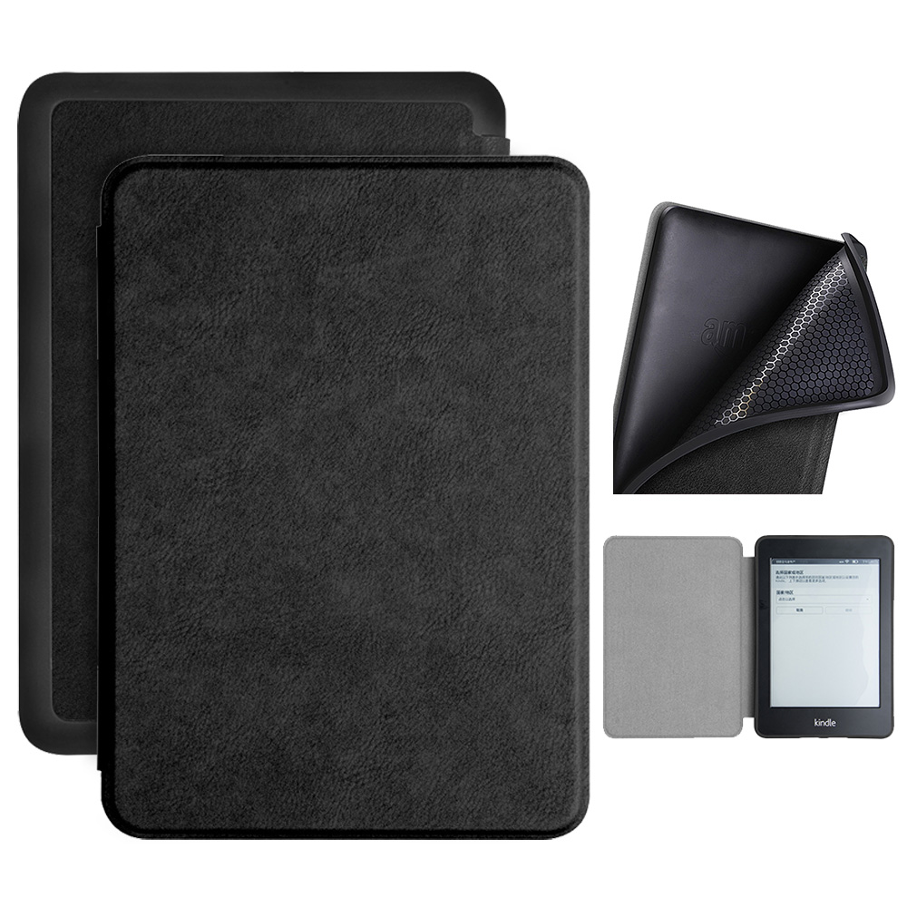 US $7 69 30% OFF|Smart cover case for 2018 new Amazon kindle paperwhite 4  10th generation e reader TPU shell case for kindle paperwhite 4 10th-in