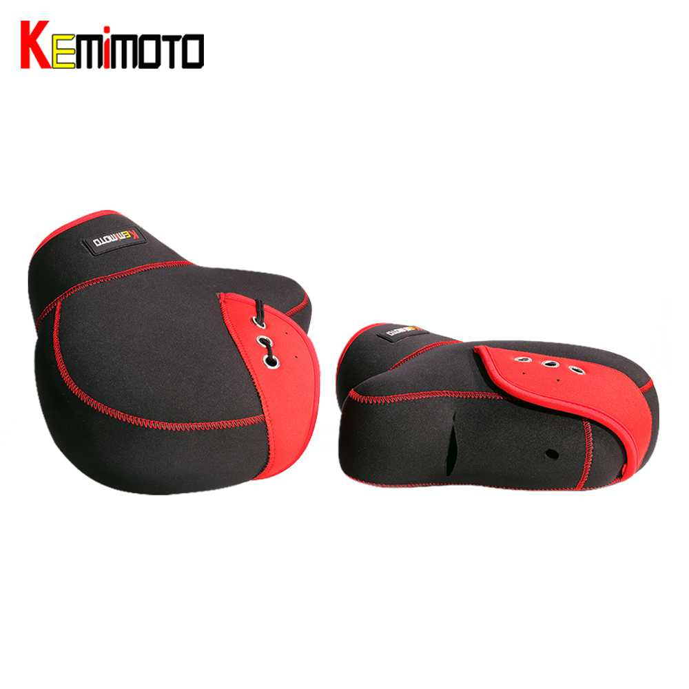 KEMiMOTO Motorcycle Gloves handlebar gloves Scooter Hand Bar Winter Gloves ATV Fur Mitts Motorbike Quad Bike Waterproof-in Gloves from Automobiles & Motorcycles