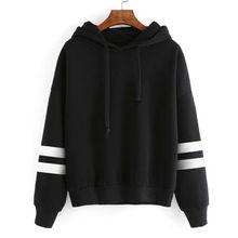 Womens Hoodie Sweatshirt Long Sleeve Str