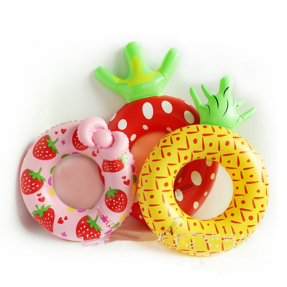 IEndyCn Baby Inflatable Thickened Swimming Ring Lovely Fruit Swim Ring Swimming  Pool  Accessories GXY191