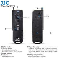 JJC JM A II Radio Frequency Wireless Shutter Release Remote Control For CANON Camera