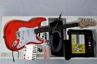Free Shipping New guitarra bass guitar shop OEM red electric guitar guitarra / guitar China