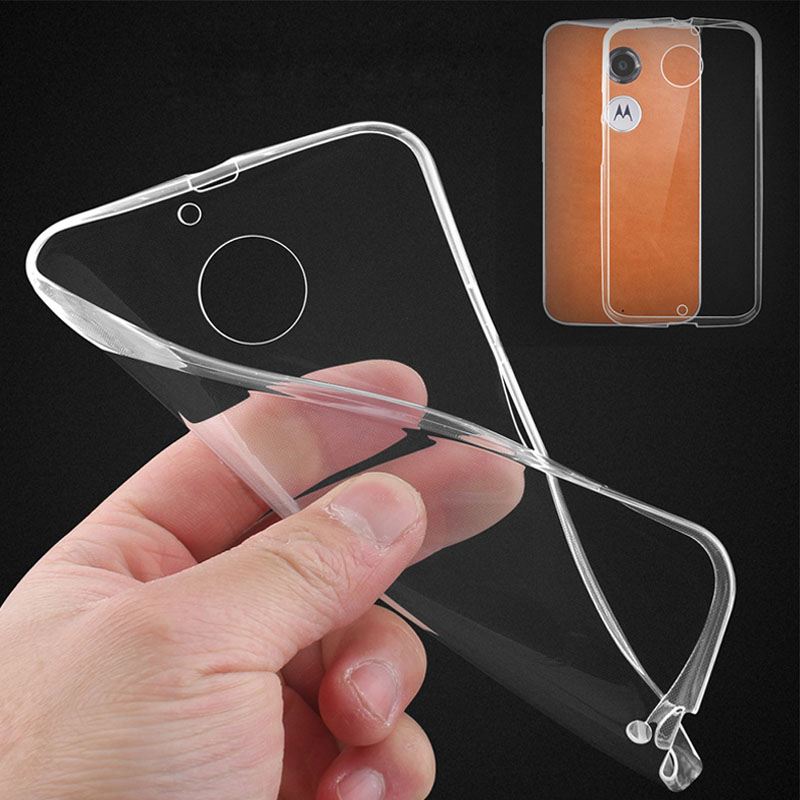 Ultra Slim Clear Case For Motorola Moto G 4G 1st Gen XT1032 G3 G2 E X2 X Style X Play Soft Silica Gel TPU Cover Transparent