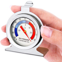 2019 Hot Sale Classic Dial Fridge Freezer Thermometer Food Meat Temperature Gauge Kitchen Refrigerator Thermometers F1