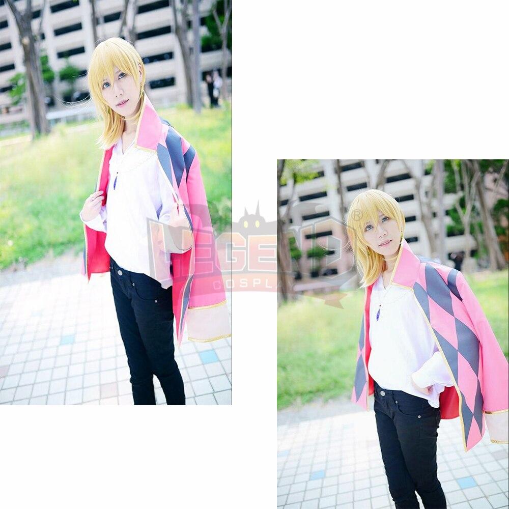 ハウルの移動城 Hauru なし ugoku 史郎コスプレハウル衣装フルセット大人の衣装すべてのサイズ