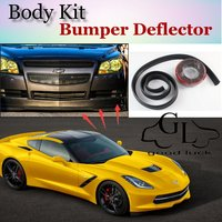 For Chevrolet Corvette C4 C5 C6 C7 Bumper Lip Lips Top Gear Shop Spoiler For Car