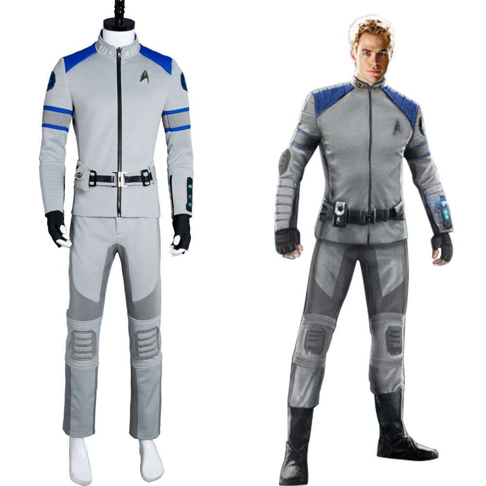 Star Trek Beyond Cosplay Costume Spock Kirk Yorktown Original Suit Yellow Blue Red 3 Color Outfit Service Uniform For Halloween