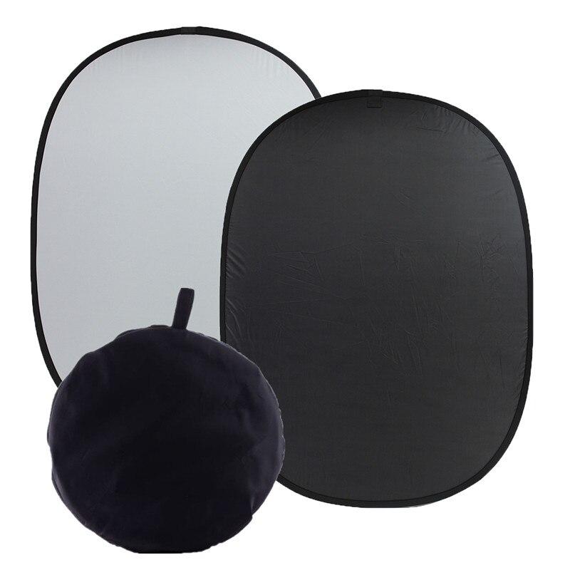 1.5x2m/59x78.7 Background Cloth Photography Board Studio Screen Black/White Durable Quality harman kardon onyx studio 2 black
