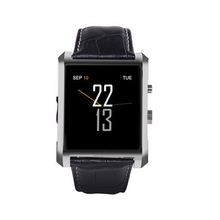 Bluetooth Smart Watch DM08 DM360 Smartwatch Luxus Leder IPS Business Armbanduhr Für Apple iPhone Android Telefon smartwatch d6