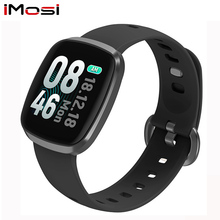 imosi GT103 Smart Watch Waterproof  Blood Pressure Fitness Tracker Sleep Monitor Music Control Full Screen Touch for iPhone