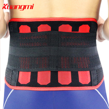 Kuangmi New Lumbar Support Waist Belt Trimmer Back Tummy Trainer Protector  Exercise Fitness