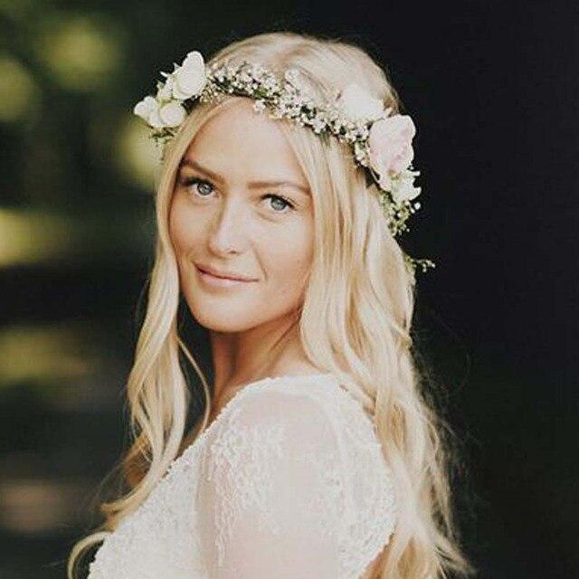 Wholesale Bohemian Style Wreath Flower Crown Wedding