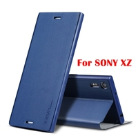 High Quality Flip PU Leather Case For Sony Xperia XZ Phone Case Cover With Retail Box
