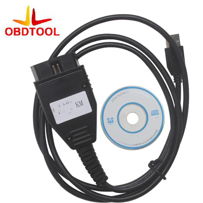 New For F1AT KM Programm TOOL via OBD2 Odometer Mileage Correction Programmer For FIAT K ...