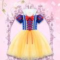 Juego de Rol de fantasía Niña vestido de Ropa de Halloween blanca Nieves Princesa vestido infantil para niñas Elsa Tutu dress niños ropa