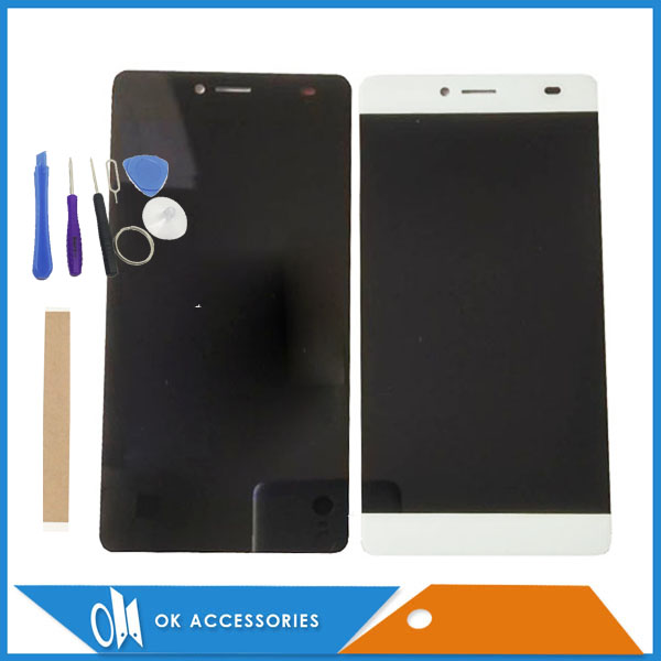 White Black Color For BQ BQS-5070 BQS 5070 Magic LCD Display+Touch Screen Digitizer High Quality With Tools Tape