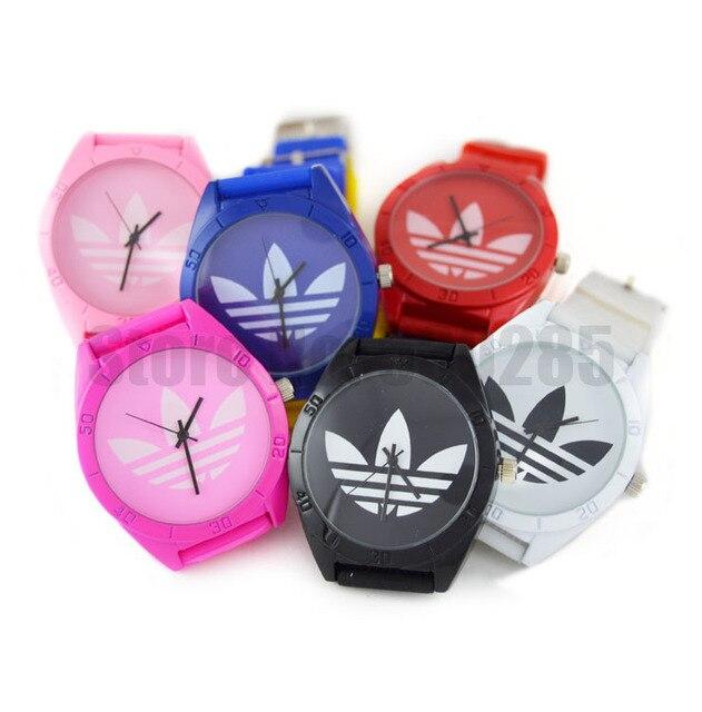 2014 Brand AD Luxury Famous Dress Quartz Watch 8 Colors Fashion Causal Unisex Rubber Wristwatch Strap New Fashion Freeshipping