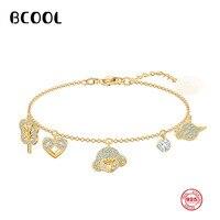 BCOOL Fashion Charm Silver SWA Original Bracelet 1:1 Copy, My Hero Adjustable Bracelet Jewelry Gift For Women.