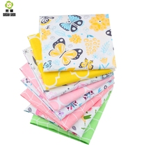 Shuanshuo Fabric Patchwork New Fresh Tissue Cloth Of Handmade DIY Quilting Sewing Baby&Children Sheets Dress 40*50cm 8pcs/lot
