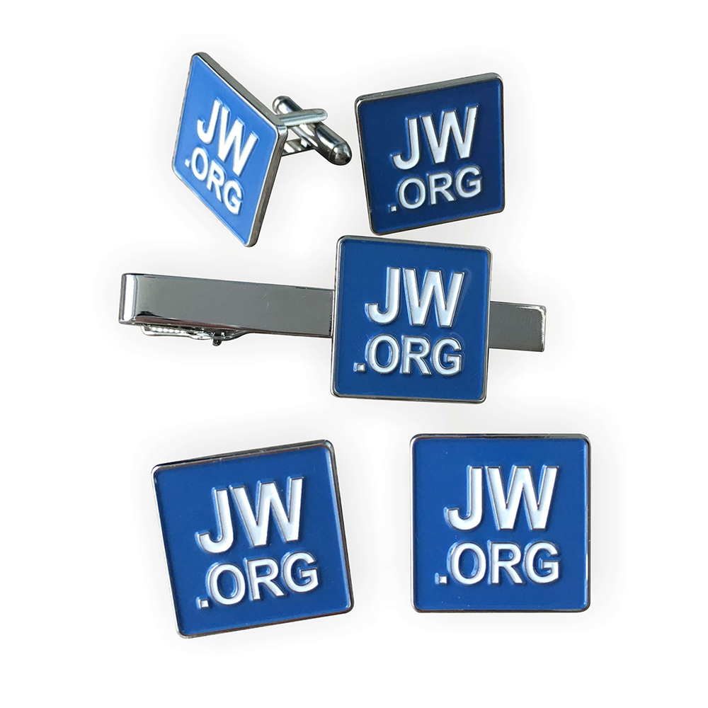 jw org cufflinks tie clip pin set in pins badges from home