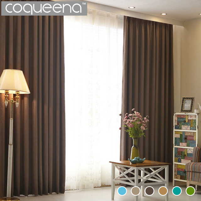 Beau Solid Thermal Blackout Curtains For Living Room Bedroom Flax Linen Door  Window Curtain Drapes Panel Drapery