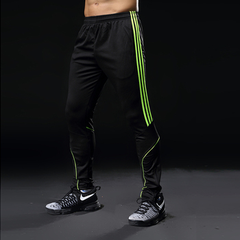 Sport Running Pants Men With Pockets Athletic Football Soccer Training Pants Elasticity Legging jogging Gym Trousers 319 6
