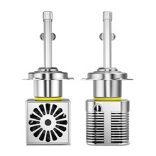 2pcs High-end chip white 9004 9007 hb5 HB1 h4 LED Headlights headlamp Fog Light Bulb 9400lm  5000k Auto Headlamp Led Car