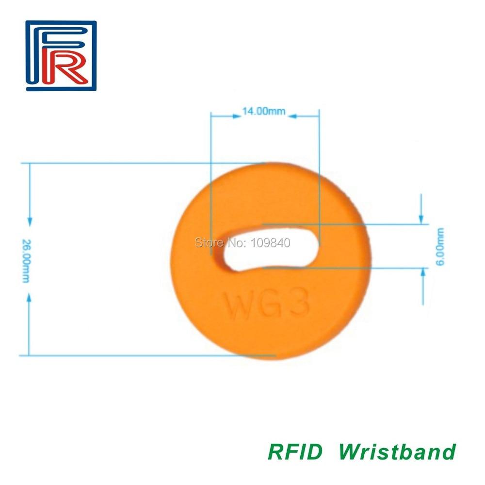 26 мм TK4100& EM4100 совместимая бирка для стирки, LF RFID бирка для стирки