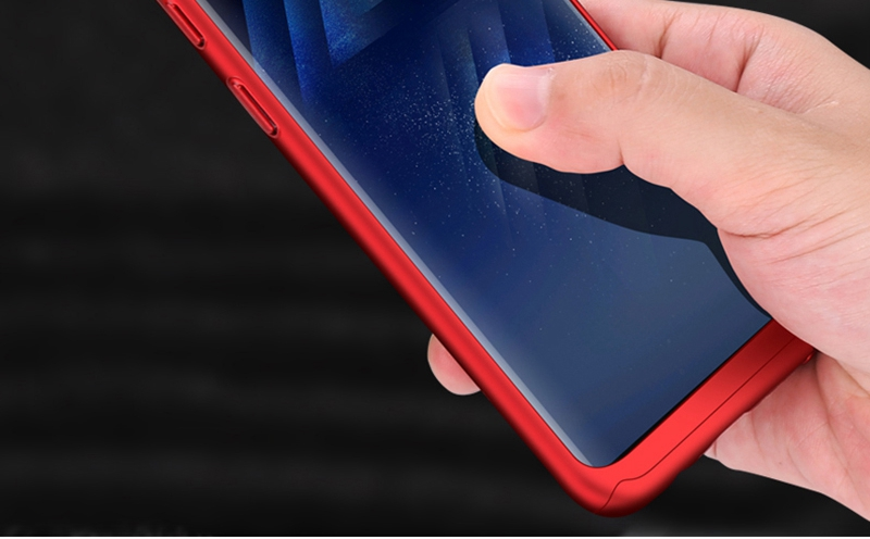 Luxury 360 Full Cover Case For Samsung Galaxy S8 S7 Plus Cases Shockproof PC With Glass TOMKAS Case For Samsung Galaxy S8    (11)