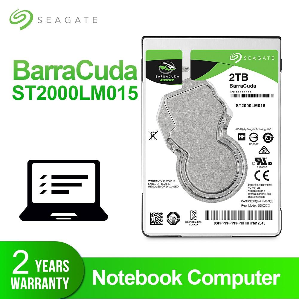 Disque dur Seagate 2 to 2.5 pouces disque dur interne pour ordinateur portable 7mm 5400 tr/min SATA 6 Gb/s 128 mo Cache 2.5